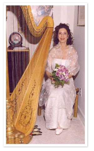 Wedding  Harpist Lisa Handman