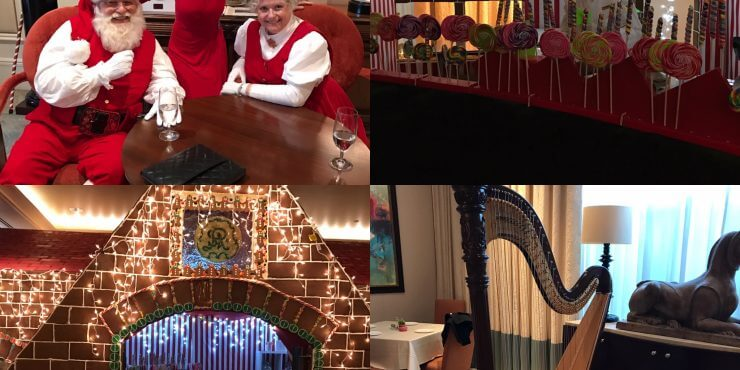 Holiday Teas at the St. Regis Hotel With Atlanta Harpist Lisa Handman