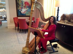 Atlanta Harpist Lisa Handman - St. Regis Hotel Holiday Afternoon Tea