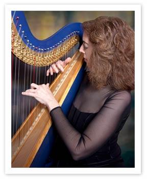 Atlanta Harpist Lisa Handman