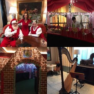 St. Regis Hotel Holiday Afternoon Tea - Atlanta Harpist Lisa Handman