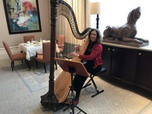 Holiday Afternoon Tea: St. Regis Hotel - Atlanta Harpist Lisa Handman